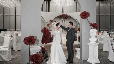 展现出文艺复兴时期浪漫感的小众个性风婚礼