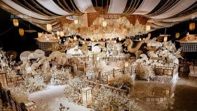 简洁明净又富有中国文化意境的新中式婚礼