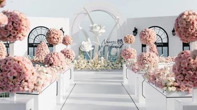 高级优雅的香奈儿风婚礼