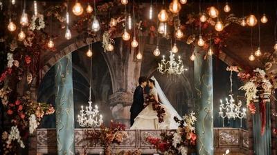 缱绻又神秘的欧式婚礼