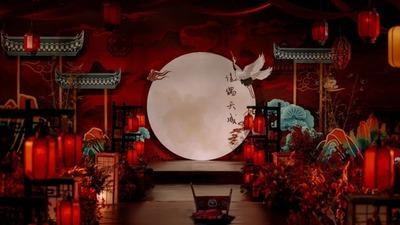 层次感分明的中式婚礼