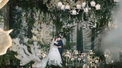 清新自然的森系婚礼