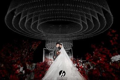 红白色系的极简风婚礼