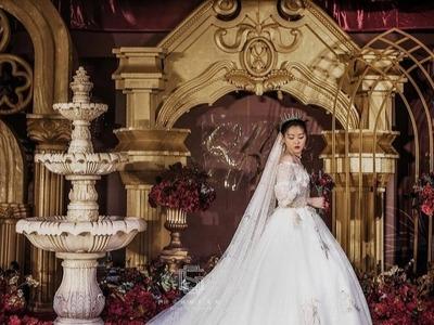 复古奢华的宫廷风婚礼