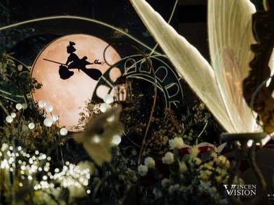 童话主题的森系婚礼