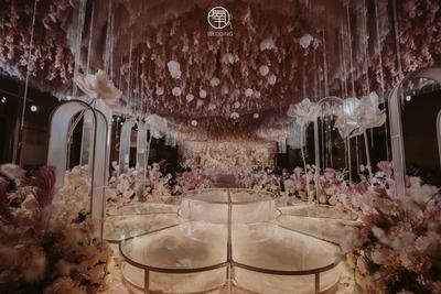 浪漫且优雅的粉色系婚礼