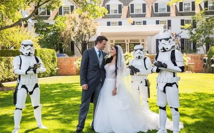 盘点那些令人羡慕的电影主题式婚礼