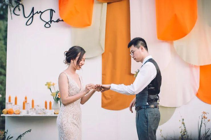 一场夏日的橘子味婚礼,爸爸的女儿红派上了用场